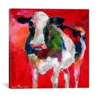 Cow 12-Inch x 12-Inch Canvas Wall Art
