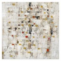 "Moe's Home Collection ""Patchy Square"" 39-Inch x 39-Inch Canvas Wall Art"
