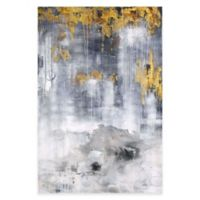 Moe's Home Collection Gold Rain Canvas Wall Art