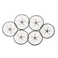 Moe's Home Collection Wheels Metal Wall Art