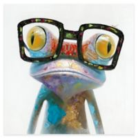 "Moe's Home Collection ""Smart Frog"" 40-Inch x 40-Inch Canvas Wall Art"
