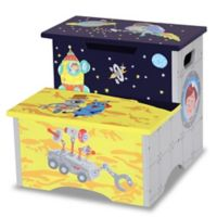 Teamson Fantasy Fields Outer Space Step Stool with Storage