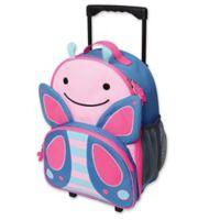 SKIP*HOP® Zoo Little Kid Rolling Luggage in Butterfly