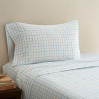 Hidden Retreat 300-Thread-Count Lake Plaid King Pillowcase in Taupe