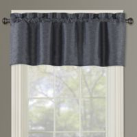 Paradise Window Valance in Indigo