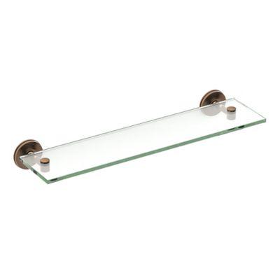 Buy Glass Bathroom Shelf from Bed Bath & Beyond