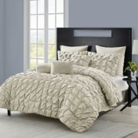 VCNY Madalyn 6-Piece Twin XL Comforter Set in Taupe