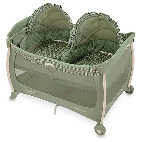 Graco Pack 39 N Play Portable Playard With Twin Bassinets