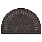 30.5-Inch x 47-Inch High Castle Estate Slice Door Mat in Charcoal