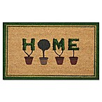 "Nourison Door Decor 1'6"" X 2'6"" Doormat in Green"