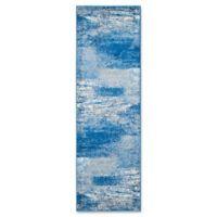 Safavieh Adirondack 2-Foot 6-Inch x 10-Foot Runner in Blue