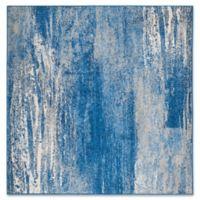 Safavieh Adirondack 4-Foot Square Accent Rug in Blue