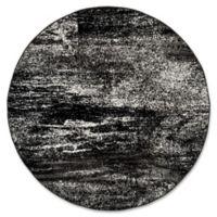 Safavieh Adirondack 8-Foot Round Area Rug in Black