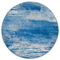 Safavieh Adirondack 8-Foot Round Area Rug in Blue
