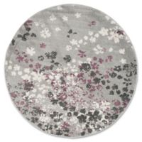 Safavieh Adirondack 6-Foot Round Area Rug in Grey