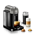 Nespresso® by Breville® VertuoLine Coffee and Espresso Maker Bundle in Titanium