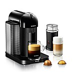 Nespresso® by Breville® VertuoLine Coffee and Espresso Maker Bundle in Black