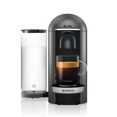 Nespresso By Breville Vertuoplus Deluxe Coffee Machine In Anium