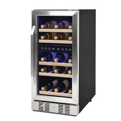 Newair® Compact 29 Bottle Dual Zone Compressor Wine Cooler