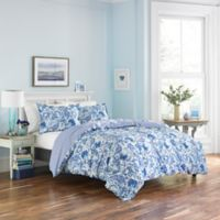 Poppy & Fritz® Brooke Full/Queen Duvet Cover Set in Aqua