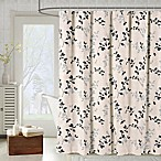 Meridian Shower Curtain in Charcoal