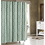 Adisson Cotton-Blend 72-Inch Shower Curtain in Harbor
