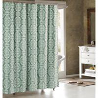 Adisson Cotton-Blend 72-Inch Shower Curtain in Harbor