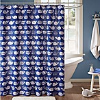 Urban Habitat Kids Moby 72-Inch Shower Curtain in Navy