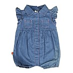 Magnetic Me by Magnificent Baby® Size 6M Magnetic Romper in Chambray