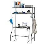 Equip Your Space 2-Tier Dorm Space Saver in Black