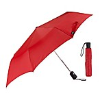 Lewis N. Clark® Compact Travel Umbrella in Red