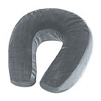 Lewis N. Clark® Cooling Gel Memory Neck Foam Pillow in Grey