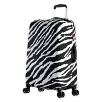 Olympia® USA Spandex 18-Inch - 22-Inch Luggage Cover in Zebra