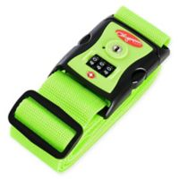 Olympia® USA Luggage Strap with TSA 3-Dial Lock in Green