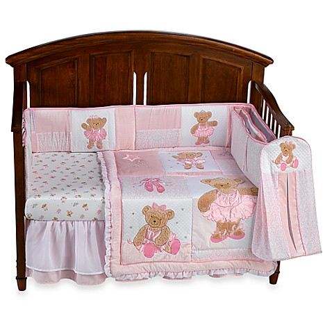Kids Line Twirling Around 6 Piece Crib Bedding Set