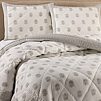 Amor Twin Quilt Set in Grey