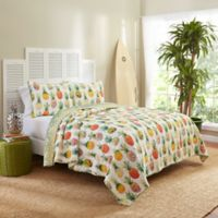Vue® Kokomo Reversible Full/Queen Quilt Set in Sunshine