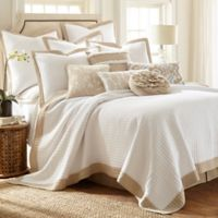 Levtex Home Jordan Reversible King Quilt Set in White