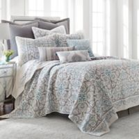 Levtex Home Massana Reversible Twin Quilt Set in Grey/Blue