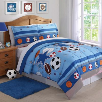 Buy Sports Bedding Sets From Bed Bath Beyond - Boys sports bedding sets twin