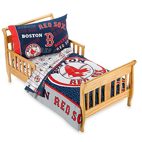 Boston Red Sox 4 Piece Toddler Bedding By The Major League