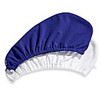 Self® Body Care Hair Turban in Sapphire/White (Set of 2)