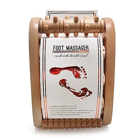 Lotus Wood Foot Massager Bed Bath Amp Beyond