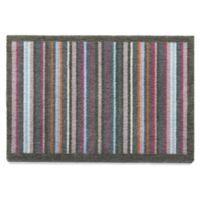 Bosmere 30-Inch x 20-Inch Multicolor Stripe Muddle Mat