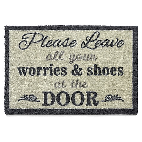 Bosmere Quot Please Leave Your Worries And Shoes At The Door