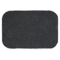 Bosmere Muddle 28-Inch x 20-Inch Outdoor Mat in Charcoal