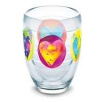 Tervis® Multi-Colored Hearts 9 oz. Stemless Wine Glass