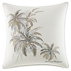 Tommy Bahama® Shoreline Palms Square Throw Pillow in Light Beige