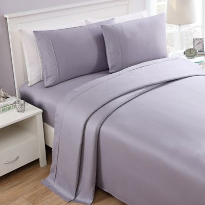 Great Seedlings Thomaspaul® 300 Thread Count Solid Twin Sheet Set In Lavender