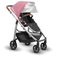 UPPAbaby® CRUZ 2017 Stroller with Leather Handles in Sabrina (Orchid Fabric/Silver Frame)